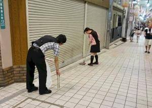 道後村夏祭り-清掃(1)