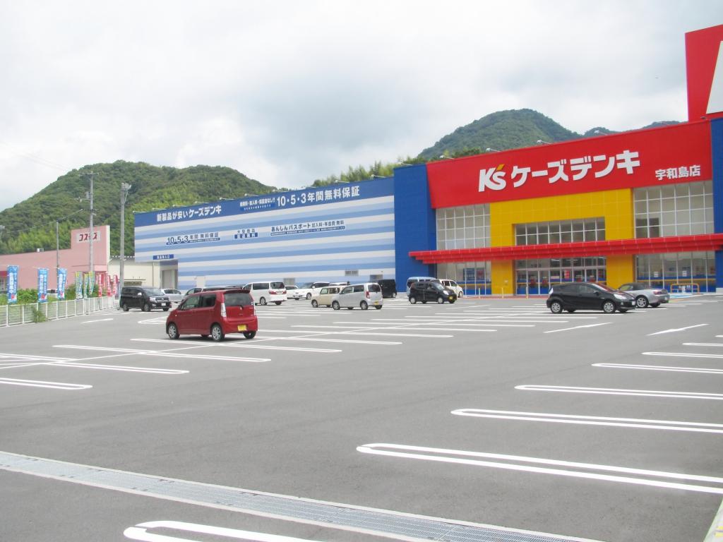 ケーズデンキ宇和島店・ディスカウントドラッグコスモス宇和島北店